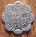 ALBERTA, RED DEER -RED DEER BAKERY, C.W. HAMILTON BREAD TOKEN pre 1940 a - Flickr - woody1778a.jpg