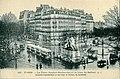 AL 107 - PARIS - La Place Denfert-Rochereau et le Lion de Belfort.jpg