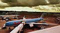 ARKEFLY BOEING 767-300 SCHIPOL AIRPORT AMSTERDAM JULY 2012 (7689842946).jpg