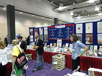 Macmillan Publishers - 2008 conference booth