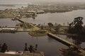 ASC Leiden - F. van der Kraaij Collection - 05 - 044 - A close up of the bridge under construction linking Providence Island to Claratown - Monrovia, Montserrado, Liberia, 1975.tif