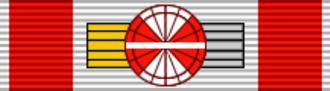 Alexander Van der Bellen - Image: AUT Honour for Services to the Republic of Austria 4th Class BAR