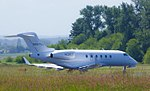 A Challenger 300 Waits for Take-Off From Skagit Regional to Portland (14221156119).jpg
