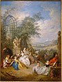 A Fete Champetre During the Grape Harvest, by Jean-Baptiste Pater, c. 1730-1733, oil on canvas - Dallas Museum of Art - DSC05242.jpg