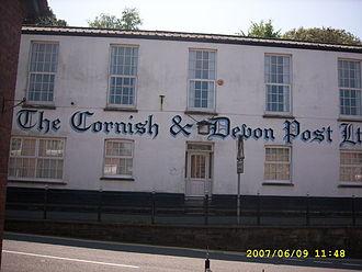 Cornish & Devon Post - Image: A Little Bit of Old Cornwall geograph.org.uk 473841