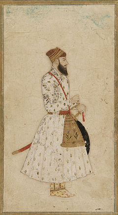 A Nawab of Mughal dynasty, India, 17th-18th century