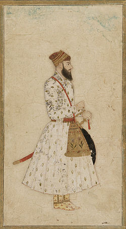 A Nawab of Mughal dynasty, India, 17th-18th century.jpg