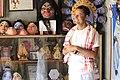 A mask artist of Samguri Satra, Majuli.jpg