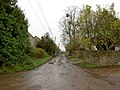 A muddy end to Talbots End Lane - geograph.org.uk - 1577577.jpg