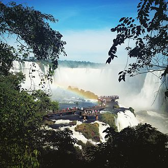 National park (Brazil) - Visitors in the Iguaçu National Park