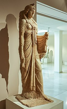 A statue from the Sanctuary of Isis at Marathon 2nd cent. A.D.jpg