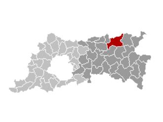 Aarschot - Image: Aarschot Locatie
