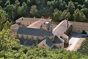 Аббатство Сенанк - Abbaye Notre-Damme de Senanque