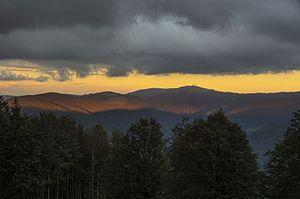 High Black Forest - The Feldberg massif at dusk