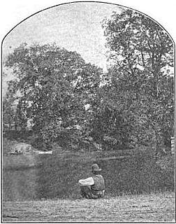 Abrahams Creek river in Pennsylvania, United States of America