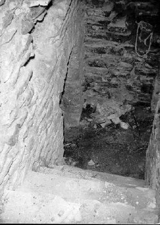 Castle of Ventimiglia - The prisons' entrance.
