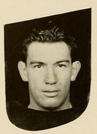 Ace Parker - Parker pictured in the Chanticleer 1936, Duke yearbook