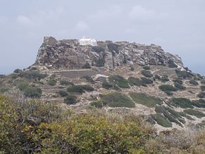 Amorgos - Acropolis of Arkessini