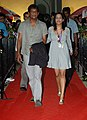 Actress Priyanka on the Red Carpet arriving at 'INOX' for the movie Gangor (Behind the Bodice), at the 41st International Film Festival of India (IFFI-2010), in Panjim, Goa on November 26, 2010.jpg