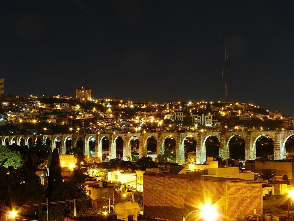 Acueductos Ciudad de Querétaro, México