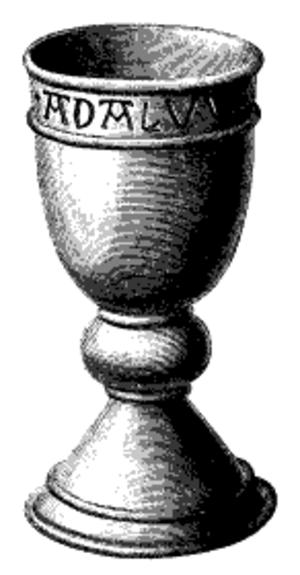 Adalvard the Elder - Adalvard's grave chalice.