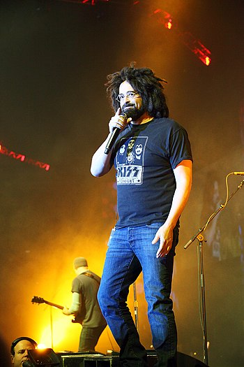 Adam Duritz of the Counting Crows at EMC World...