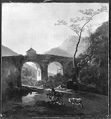 Italian Landscape with Viaduct