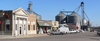 Adams, Nebraska - Downtown Adams: Main Street