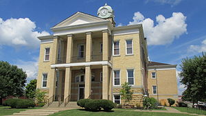 Adams County, Ohio - Image: Adams County OH Courthouse 1