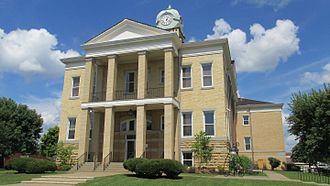 Adams County Courthouse (Ohio) - The Courthouse in West Union, Ohio