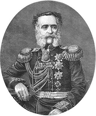 Vladimir Fyodorovich Adlerberg - Vladimir Adlerberg in 1869