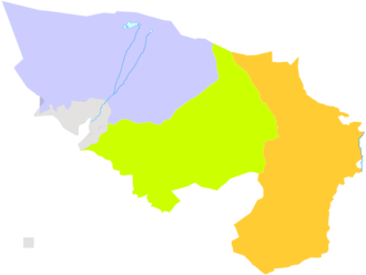 Alxa League - Image: Administrative Division Alxa