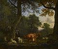 Adriaen van de Velde - A Woodland Glade with Animals and Figures - 1664 -RCIN 404082.jpg