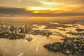 Aerial photograph of Sydney taken from a helicopter.jpg