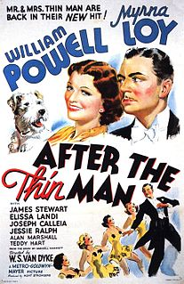 <i>After the Thin Man</i> 1936 film by W. S. Van Dyke