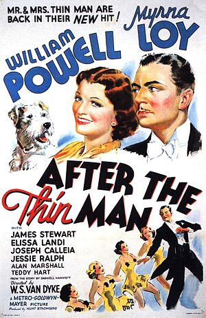 After the Thin Man - Theatrical release poster