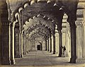 Agra, Interior of the Motee Musjid, Showing the Centre Aisle, 10699801.jpg