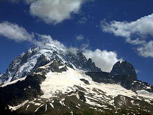 Aiguille des Grands Montets - Image: Aiguille Verte, Grands Montets