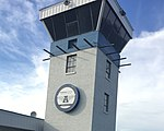 Airport Tower located and built in Logan-Cache Airport, May 2017.jpg