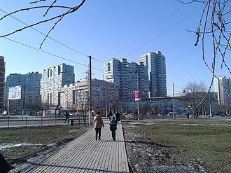 Cheryomushki District - Garibaldi Street