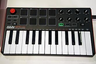 MIDI keyboard - Akai MPK mini MK2