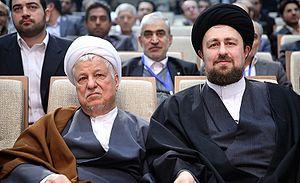 Hassan Khomeini - Hassan Khomeini with Akbar Hashemi Rafsanjani
