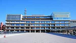 Akita City Hall main building 20190114.jpg