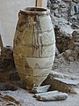 Akrotiri Archeological Excavation Pithoi store room 04.jpg