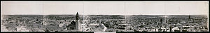Panoramic view of the city of Albany, New York...