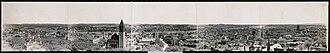 History of Albany, New York - Image: Albany NY Panorama 1906