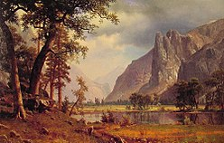 Albert Bierstadt: Yosemite Valley