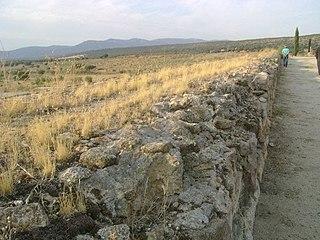 Alcantarilla Dam Dam in Toledo province, Castilla-La Mancha, Spain