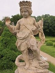 Alegorická socha Amerika