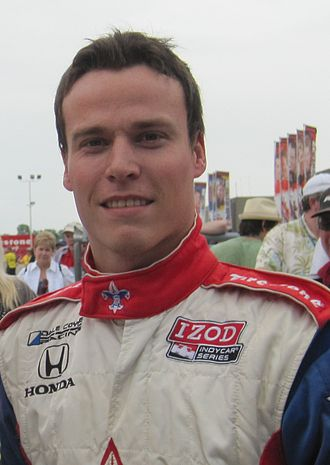 Alex Lloyd (racing driver) - Lloyd at the Indianapolis Motor Speedway in May 2010.